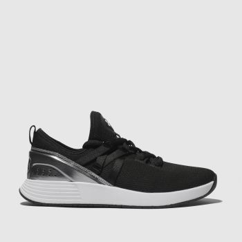Under Armour Black & Silver Breathe Womens Trainers