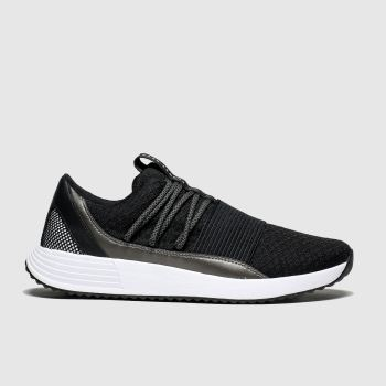 Under Armour Black & White Breathe Lace Womens Trainers