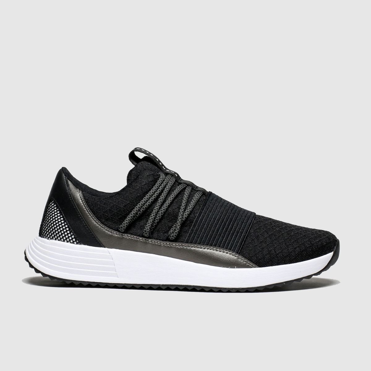 Under Armour Black & White Breathe Lace Trainers