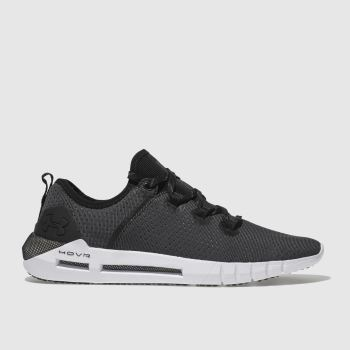Under Armour Black & White Hovr Slk Womens Trainers