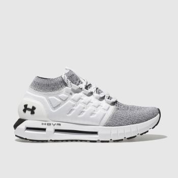 Under Armour White & grey Hovr Phantom Womens Trainers