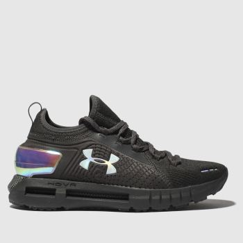 Under Armour Schwarz-Silber Hovr Phantom Se Damen Sneaker