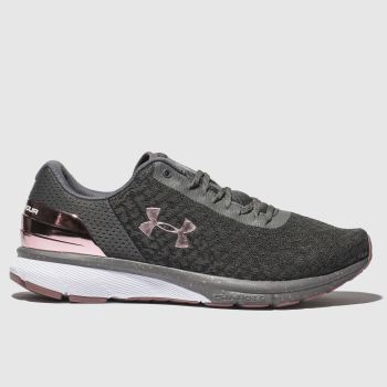 Under Armour Grey Charged Escape 2 Womens Trainers