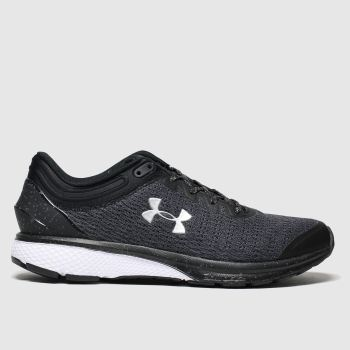 Under Armour Grau-Schwarz Charged Escape c2namevalue::Damen Sneaker