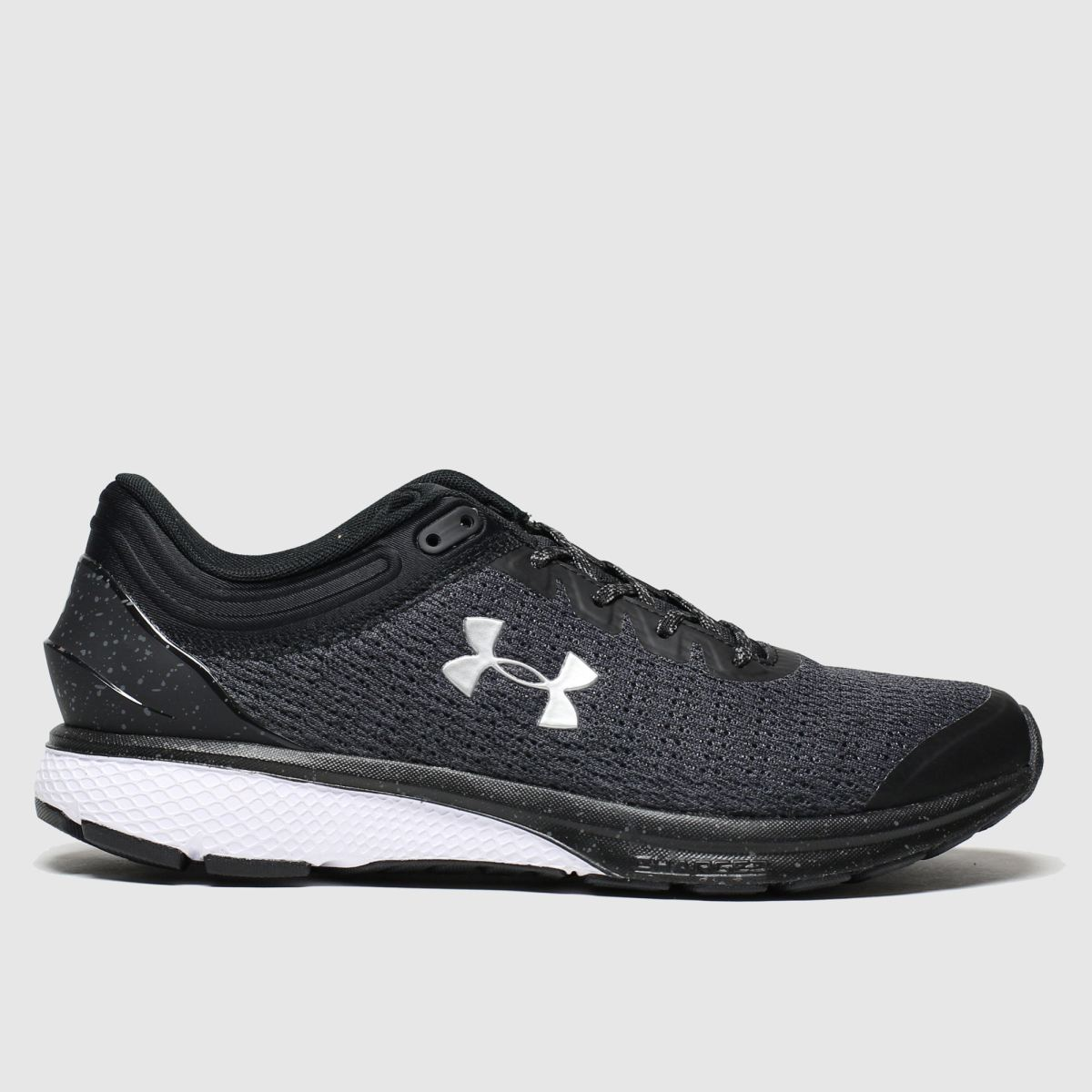 Under Armour Grey & Black Charged Escape Trainers
