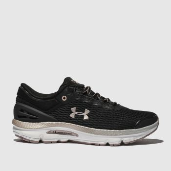 Under Armour Black Charged Intake 3 Womens Trainers