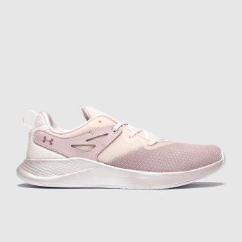 Under Armour Pale Pink Charged Breathe Womens Trainers