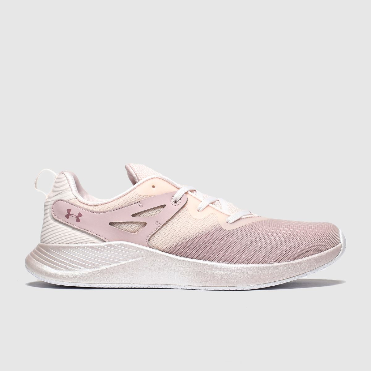 Under Armour Pale Pink Charged Breathe Trainers