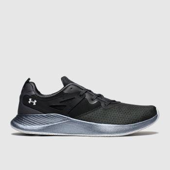 Under Armour Black & White Charged Breathe Womens Trainers