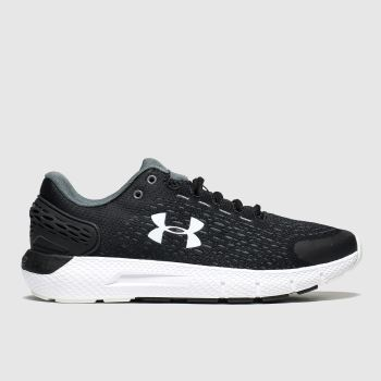 Under Armour Black & White Charged Rogue 2 c2namevalue::Womens Trainers