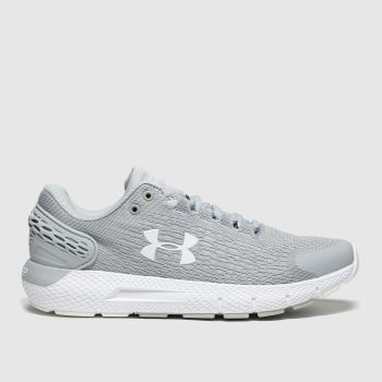 Under Armour Grey Charged Rogue 2 Womens Trainers