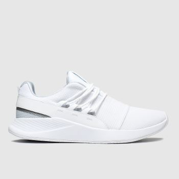 Under Armour White Charged Breathe Lace Womens Trainers