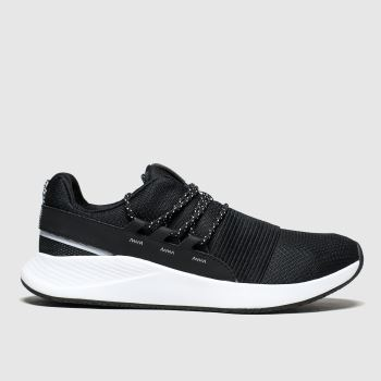 Under Armour Black & White Charged Breathe Lace Womens Trainers