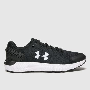 Under Armour Black & White Charged Rogue 2 Womens Trainers