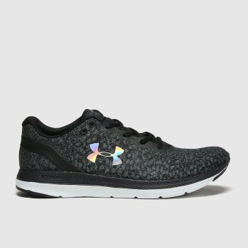 Under Armour Black Charged Impulse Womens Trainers