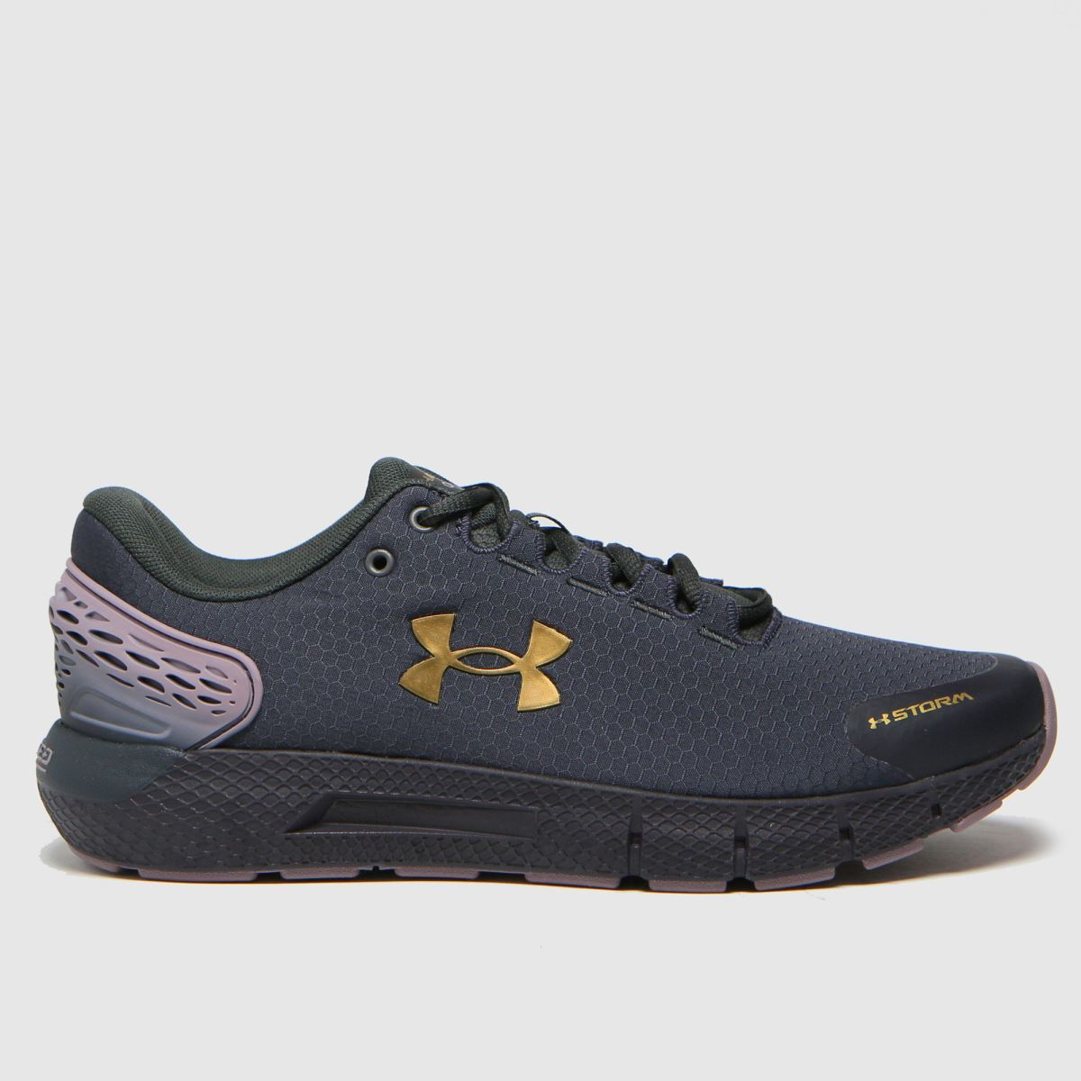 Under Armour Black & Gold Charged Rogue 2 Storm Trainers