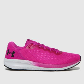 Under Armour Pink Charged Pursuit 2 Womens Trainers