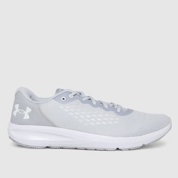 Under Armour Light Grey Charged Pursuit 2 Womens Trainers