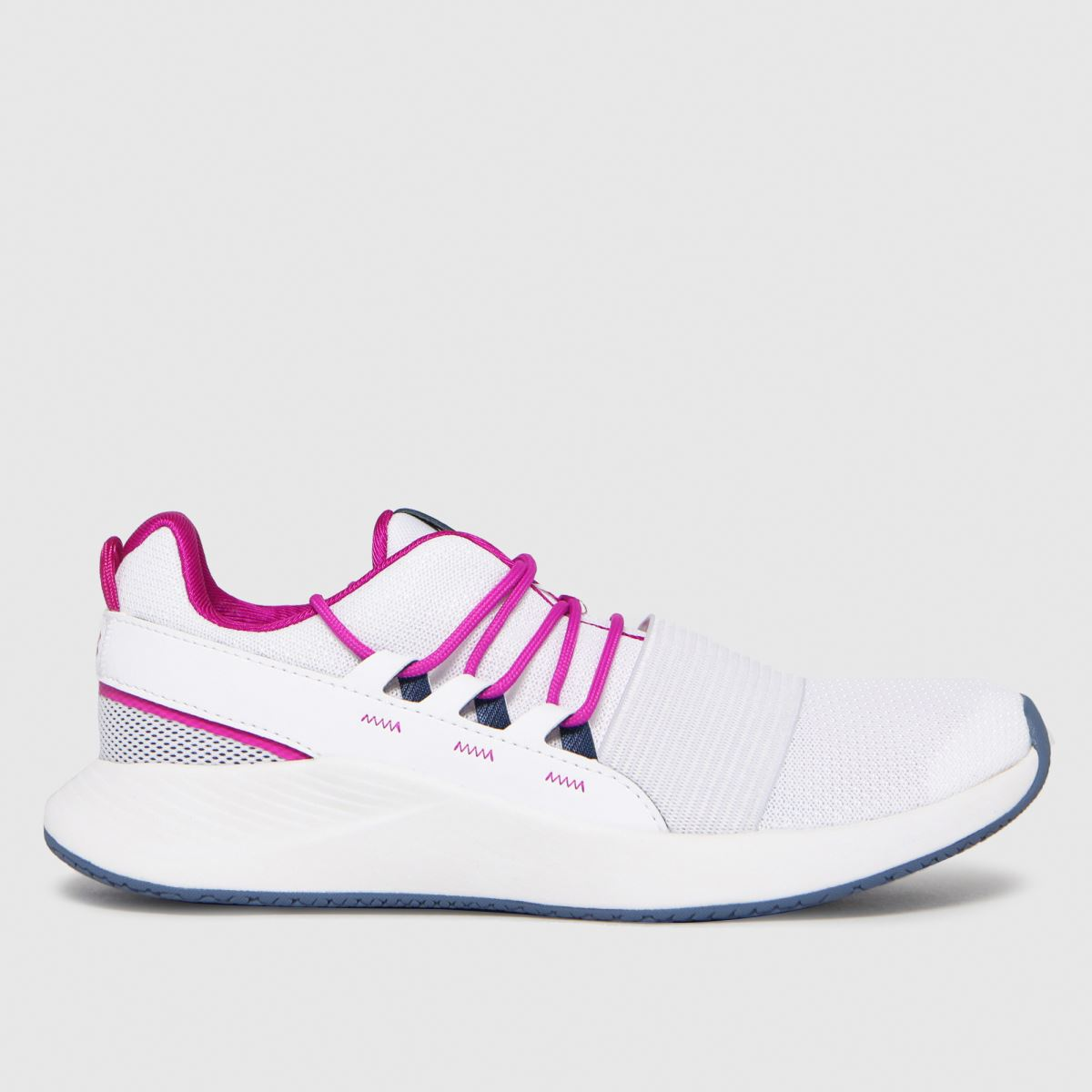 Under Armour White Charged Breath Lace Trainers