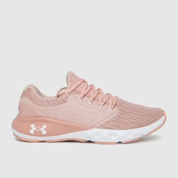 Under Armour Pale Pink Charged Vantage Womens Trainers