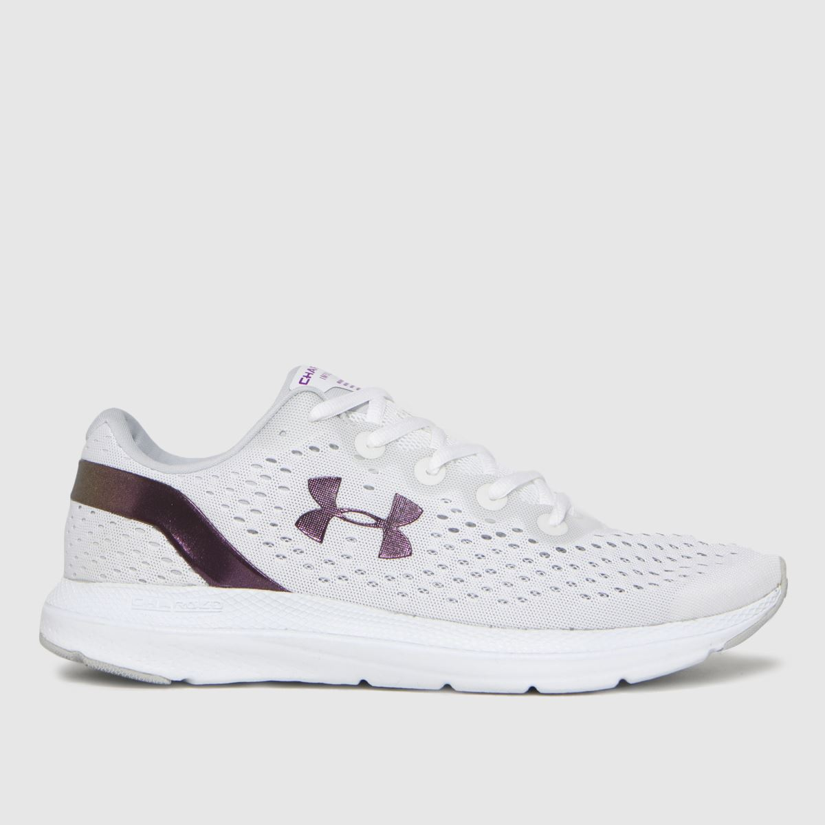 Under Armour White Charged Impulse Shift Trainers