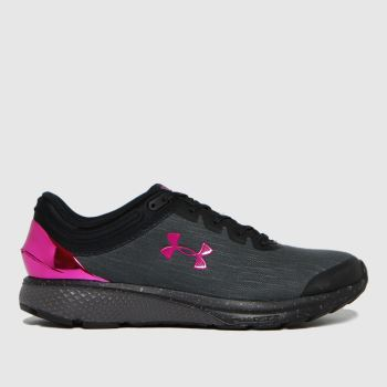Under Armour Black Charged Escape3 Evo Womens Trainers