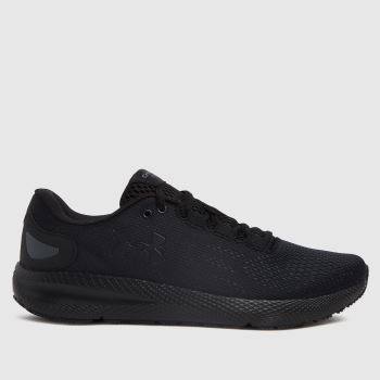 Under Armour Black Charged Pursuit 2 Womens Trainers