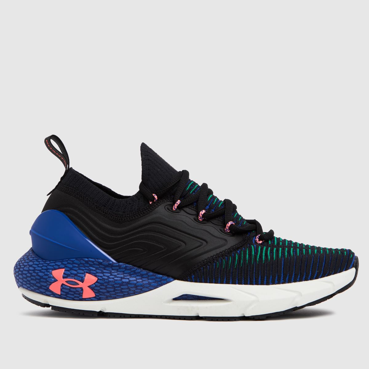 Under Armour Black & Navy Hovr Phantom 2 Inknt Trainers