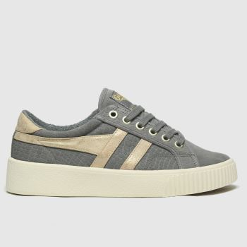 Gola Dark Grey Baseline Mark Cox Mirror Womens Trainers#