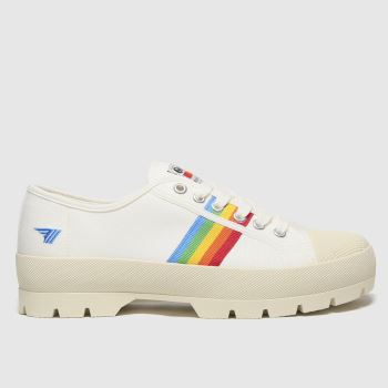 Gola White Coaster Peak Womens Trainers