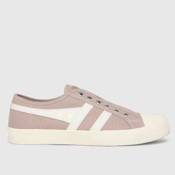 Gola Pale Pink Coaster Slip Trainers