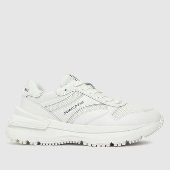 CALVIN KLEIN Weiß Runner Lace Up Sneaker Damen Sneaker