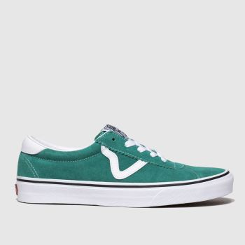Vans Green Sport Womens Trainers