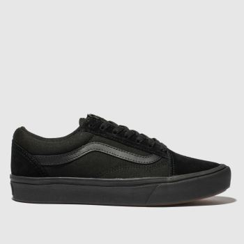 Vans Black Comfycush Old Skool Womens Trainers#