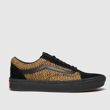 Vans Brown & Black Comfycush Old Skool Womens Trainers
