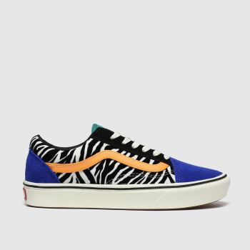 Vans Multi Comfycush Old Skool Womens Trainers