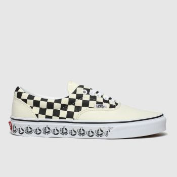 Vans White & Black Era X Bmx Womens Trainers