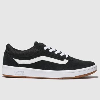 Vans Black & White Uc Cruze Staple Womens Trainers