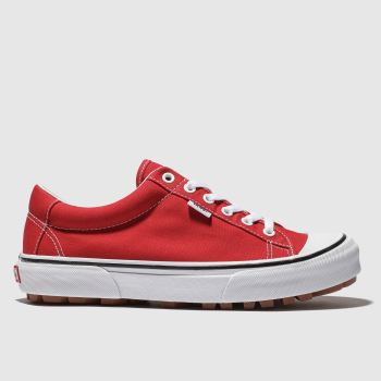 Vans Red Style 29 Womens Trainers