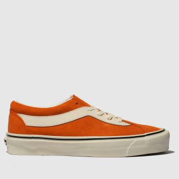Vans Orange Bold Ni Suede Womens Trainers