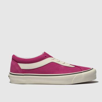 Vans Pink Bold Ni Suede Womens Trainers