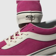 82223e984c6b womens pink vans bold ni suede trainers