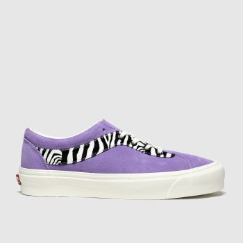 Vans Purple Bold New Issue Womens Trainers