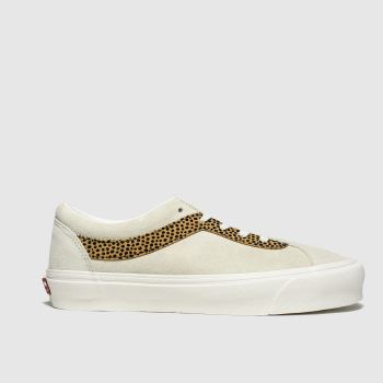 Vans Beige & Brown Bold New Issue Womens Trainers