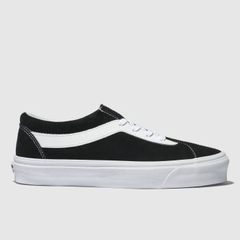 Vans Black & White Bold New Issue Staple Womens Trainers