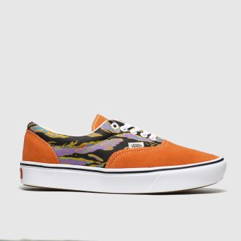 Vans Orange Comfycush Era Womens Trainers