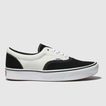 Vans Black & White Comfycush Era Womens Trainers