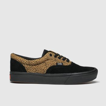 Vans Brown & Black Comfycush Era Womens Trainers