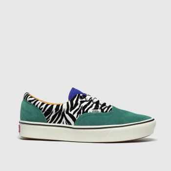Vans Black & Green Comfycush Era Womens Trainers