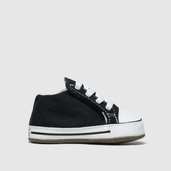 Converse Black & White All Star Cribster Unisex Crib
